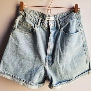 'Mom' Jean Shorts
